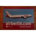 Air Berlin - A320 ~ Rego D-ABDA