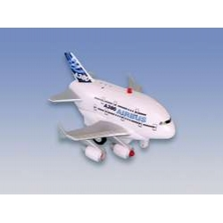 Airbus A380 Pullback Toy W/LIGHT & Sound