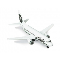 Alaska Airlines B737 Single Plane - Toy