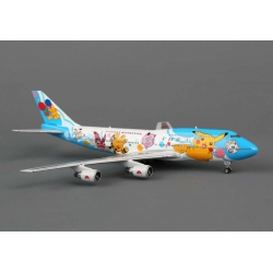 "ANA All Nippon Airways Boeing 747-481 – 1/400 ~""Pokemon"""