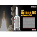 Ariane 5G Rocket with Launch Pad ~  1/400