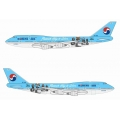 Korean Air Boeing 747-400  ~ 1/400