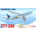 Korean Air Boeing 777-200  ~ 1/400 - Dragon