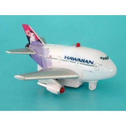 Hawaiian Airlines Pullback Toy W/LIGHT & Sound