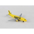 Spirit Airlines A320 Single Plane - Toy