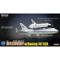 "NASA Space Shuttle ""Discovery"" w/Boeing 747 ~ 1/400"