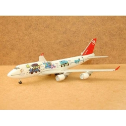 Northwest Airlines Boeing 747-451 Worldplane - 1/400