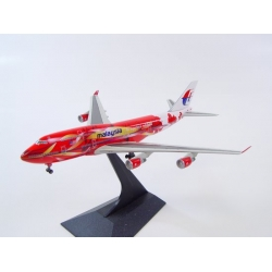 """Malaysia Airlines Boeing 747-4H6 - """"Hibiscus"""" ~ 1/400"""