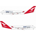 "QANTAS Boeing 747-438 - 1/400 - ""ONE WORLD"""
