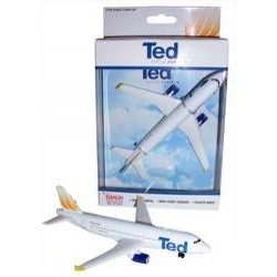 Ted Airlines A320 Single Plane - Toy