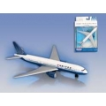 United Airlines Boeing 747  Single Plane - Toy